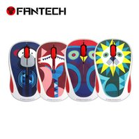 Wholesale Mini Notebook Battery - FANTECH W235Z Realiable Portable Wireless Mouse Cute Mini 2.4 GHz Wireless Optical Mouse Mice for PC Laptop Notebook(no battery)
