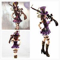 Wholesale league legends anime for sale - Anime Game League of Legends The Sheriff of Piltover Caitlyn Action Figure Toy Doll Brinquedos Figurals Collection LOL Model Gift