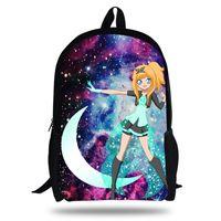 Wholesale school bag newest resale online - 2018 Newest Backpack LolicRock Magical Girl Design Printing Children School Bags Boys Teenage Girls LolicRock Casual Backpacks