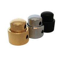 Wholesale bass parts - Guitar Parts Brass Dual Concentric Control Volume Tone Knob For Guitar Bass
