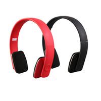 falten usb headset großhandel-Folding Wireless Bluetooth Kopfhörer Licht Tragbare Stereo Hifi Kopfhörer Sport Musik Player Faltbarer BT Kopfhörer für Telefon