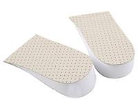 ingrosso inserti protezione del tallone-Uomo Donna Silicone Gel Heel Cushion Solette Suole Alleviare il dolore Pain Protector Spur Support Shoe Pad inserti a tacco alto