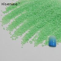 Wholesale round resin stickers resale online - Hot Sale mm D Glier Light Green Nail Art Decoration Resin Rhinestones Stickers Round Princess Rivet Studs Stones