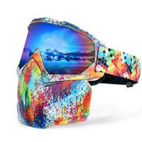 augenverschluss linse groihandel-Joytutus Skibrille Schnee Snowboardbrille Snow Eye Schutzbrille Brillendoppelschichtlinse Männer Frauen