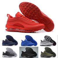 мужчины оптовых-basketball shoes Brand New 97 Sean Wotherspoon Мужская обувь Top 97s Women Vivid Sulur Multi Yellow Blue Hybrid 36-45 running shoes