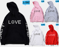 Wholesale Hoddies Women - 2018 K-POP Style Cotton Hoddies Fashion Women Fans Club Love Hoodies Sweatshirts Size XS~3XL
