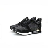 sarı deri ayakkabılar toptan satış-Lüks tasarımcı marka deri mens kadın Eğitmenler kadınlar Için noel hediyesi Koşu Ayakkabıları Sneakers Spor unisex Açık Atletik w01