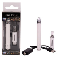 ingrosso avvitare il blister di avviamento-E sigaretta eGo-C Twist MT3 starter kit Batteria regolabile mt3 atomizzatore Vapor tank Sigarette elettroniche EGO-T blister kit vape pen