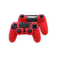 Wholesale sony playstation case online - high quality Anti Slip Protective Silicone skin Case Cover For Sony Playstation PS4 Controller for PS4 slim pro Controller