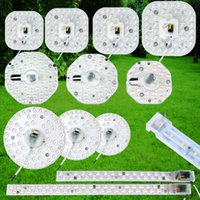 Wholesale industrial module - NEW Round pcb board led module 12w 18w 24w 36w Replace ceiling lamp WHITE WARM WHITE light retrofit free shipping