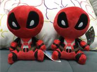 örümcek adam peluş oyuncak bebek toptan satış-20 cm Film X-man Deadpool Bebek 8 inç Yumuşak Örümcek Peluş Bebek Oyuncak Brinquedo Çocuk Oyuncakları Hediye