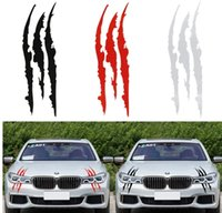 Wholesale claw stickers resale online - Sailnovo cm cm Funny Colors Car Auto Sticker Reflective Monster Scratch Stripe Claw Marks Car Auto Headlight Vinyl Decal Car Styling