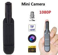 Wholesale spy pen camera recorder - mini camera portable pen camcorders 1280*1080 avi HD Spy pen vidicon hidden Pen recorder DVR mini DV support 32G TF Card Hidden camera