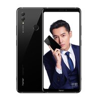 cep telefonu android notları toptan satış-Orijinal Huawei Onur Not 10 6 GB RAM 64 GB RAM Kirin 970 Octa çekirdek 4G LTE Cep Telefonu Android 6.95