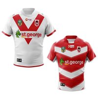 Wholesale george shirts - ST GEORGE home and away ILLAWARRA DRAGONS ALTERNATE 18-19 NRL National Rugby League nrl Jersey shirt s-3xl