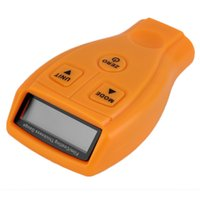 Wholesale ultrasonic meters - GM200 Coating Painting Thickness Gauge Tester Ultrasonic Paint Iron Car Painting Thickness Tester Meter Tool, Measuring 0~1.80mm   0~71.0Mil