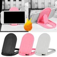 verstellbare ständer großhandel-Universal Phone Support Halter auf Tisch einstellbar Schreibtisch Halter faltbare Handy Stand e411