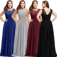 Wholesale dresses plus size designer 18w online - New Simple Modest Dark Navy Chiffon Bridesmaid Dresses Plus Size Cheap Scoop Sleeveless A Line Formal Wedding Guests Party Wear CPS526