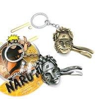 naruto anahtarlık anime toptan satış-2018 Naruto Anahtarlık Sevimli Naruto Panter Anahtarlık Özelleştirmek Anime Anahtarlık PCB178-193