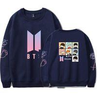 Wholesale bts album - BTS K-pop Sweatshirt Women Mini Album Love Yourself tracksuit Capless Sweatshirt K Pop Hip Hop Female Jimin Closthes