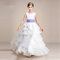 2018 Simple Girl Dress Flower Girl Dress Cute Girl Beauty Dress New Arrival  Child Formal Accessories