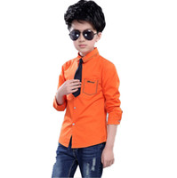 Wholesale new clothing brand for kids for sale - Hot Sale New Spring Children Clothing Brand Fashion Full Printed Bow Tie Kids Blouses Gentleman Boys Shirts for Years