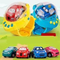 renk değeri toptan satış-Yerçekimi Sensörü Uzaktan Araba Akıllı İzle Kontrol RC Mini Yarış Oyuncak Arabalar Çocuklar Için İstihbarat Renk Hediye 42zt WW