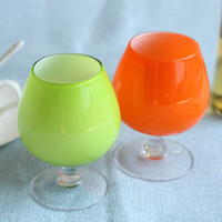 Wholesale 48pcs Corlorful Wine Glass Brandy Drinking Alcohol Licor Beers Kamjove Drinkware Cups QA521 DHL
