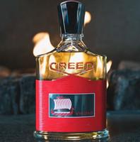 homens perfume quente venda por atacado-Venda quente irlandês credo vermelho perfume para homens 100 ml com longa duração tempo bom cheiro de alta qualidade alta fragrância capacidade navio livre