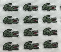 Wholesale Clothing Patterns Sewing - New Animal Crocodile Pattern embroidered patches for sewing Bag clothing patches iron on sewing accessories applique
