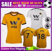 FREE Ship patch 18 19 new Wolverhampton Wanderers soccer jersey top quality 2018  2019 home away Jota leo Cavaleiro costa Boly football shirt b1b6f4ce1