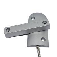 draht-fenster-sensor großhandel-Hohe qualität max 90mm arbeitsabstand verdrahtete rolltor alarm magnetschalter fenster metall tür öffnen control tür sensor für freies verschiffen