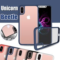 Wholesale unicorn beetle iphone plus for sale – best Unicorn Beetle Hybrid Camera Lens Protective Slim Transparent Case Cover For iPhone XS Max XR X S Plus S Samsung Galaxy Note S8