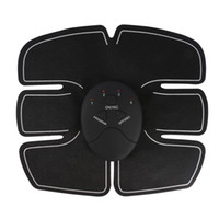 instrumentos para el hogar al por mayor-Abdomen Trainer Battery Home Fitness Abdomen Instrument Muscle Trainer Abdominal Muscle Abdomen Body Health Venta caliente