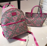Wholesale butterfly totes for sale - Group buy Girl S Brand Small Butterfly Shopping Bag Tote Bag Kids Backpack People Universal Parent child