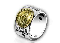 mary ring al por mayor-S925 joyería de plata esterlina Seiko dama de la moda Mary Marie anillo esteticismo