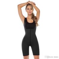 883dec0b44 Wholesale- Black Latex Hot Shapers Waist Trainer Corsets Neoprene Corset  Shapewear Plus Size Women Body Shaper Slimming Shapewear Underwear