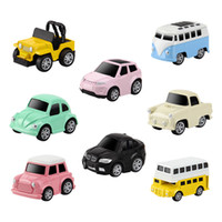 Wholesale Model Bus Toys - Car-Styling Color Kids Cars Toy Pull Back Model Car Birthday Gift Educational Toys For Children Boys