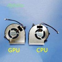 msi laptop kühler großhandel-Neue Laptop CPU GPU Kühlung Lüfter für MSI GE72 GE62 PE60 PE70 GL62 GL72 GP62 2QE 6QG MS-1794 MS-1795 PAAD06015SL