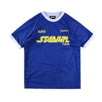 Wholesale Cotton Mesh Shirts - USA Europe False Two Layered Justin Bieber Reversible Purpose tour Tshirt Oversized Hip Hop Mesh T shirt Tee