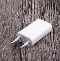 Wholesale white eu usb wall charger - White Universal USB Power Adapter EU Plug 5V AC Micro Usb Wall Charger For Phone 5s 6s For LG HTC phone Adaptador Usb