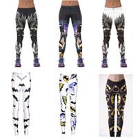 batman leggings UK - Batman Yoga Pants for Women 3D Printed Sports Fitness Tights Trousers Slim Batman Leggings Pants XXXXL