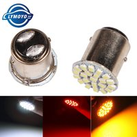 LYMOYO voiture led P21 / 5w bay15d 1157 22led 22smd clignotants lampe à ampoule blanc Voiture Lampe De Frein Queue Parking Light