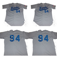 Wholesale basin s - Rawlings Columbia Basin College Hawks Baseball Jersey 100% Stitched Custom Baseball Jerseys Any Name Any Number Grey S-XXXL