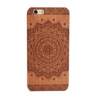 Wholesale Cheap Customized Iphone Cases - Cheap wood cell phone case for iPhone x apple 6 6s s 7plus 8plus 8 plus wooden hard pc mobile phone back cover