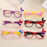мультфильм очки кролик оптовых-Мультфильм очки детские зеркало рамка корейский лук кролик Декоративные рамки детские декоративные очки