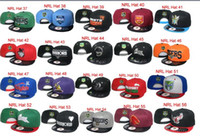 Wholesale Adult Cartoon Hats - Hot Sale NRL South Sydney Rabbitohs Hat Football Caps Snapbacks Hats Cartoon Logo Adjustable Football Caps Fashion Hip Hop