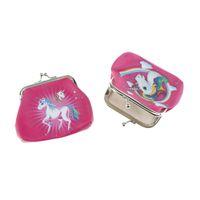 Wholesale coin online - Mini Unicorn cartoon Coin Purses girl hasp change unicorn fashion Wallet Money Bag Small Pocket FFA546