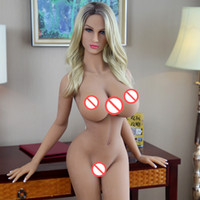 Wholesale vagina sex styles resale online - New American Europe style Real Silicone Sex Dolls for Men Sexual Doll Oral Anal Vagina Big Breast Adult Sex Love Doll for Men