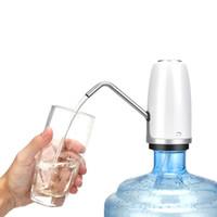 torneiras de água potável venda por atacado-Bomba de Água Potável elétrica Dispenser de Água USB Recarregável Beber Torneira para Beber Água Garrafas de Cozinha Em Casa Ao Ar Livre TB